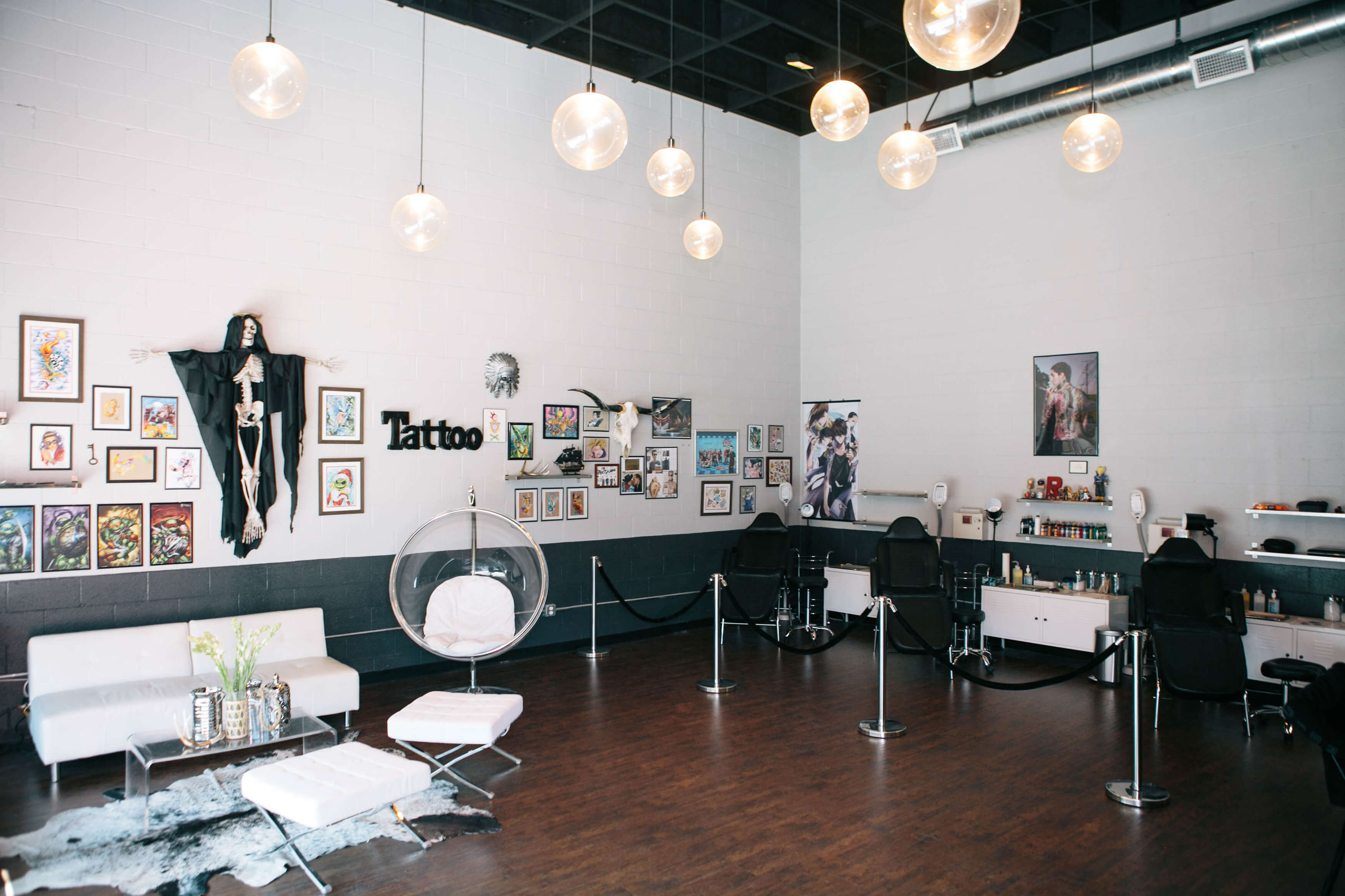 the california dream tattoo shop be by brittaney elise